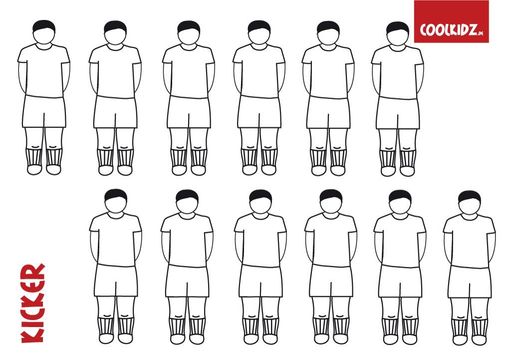 Bastel Dir Deinen eigenen Fußball-Kicker