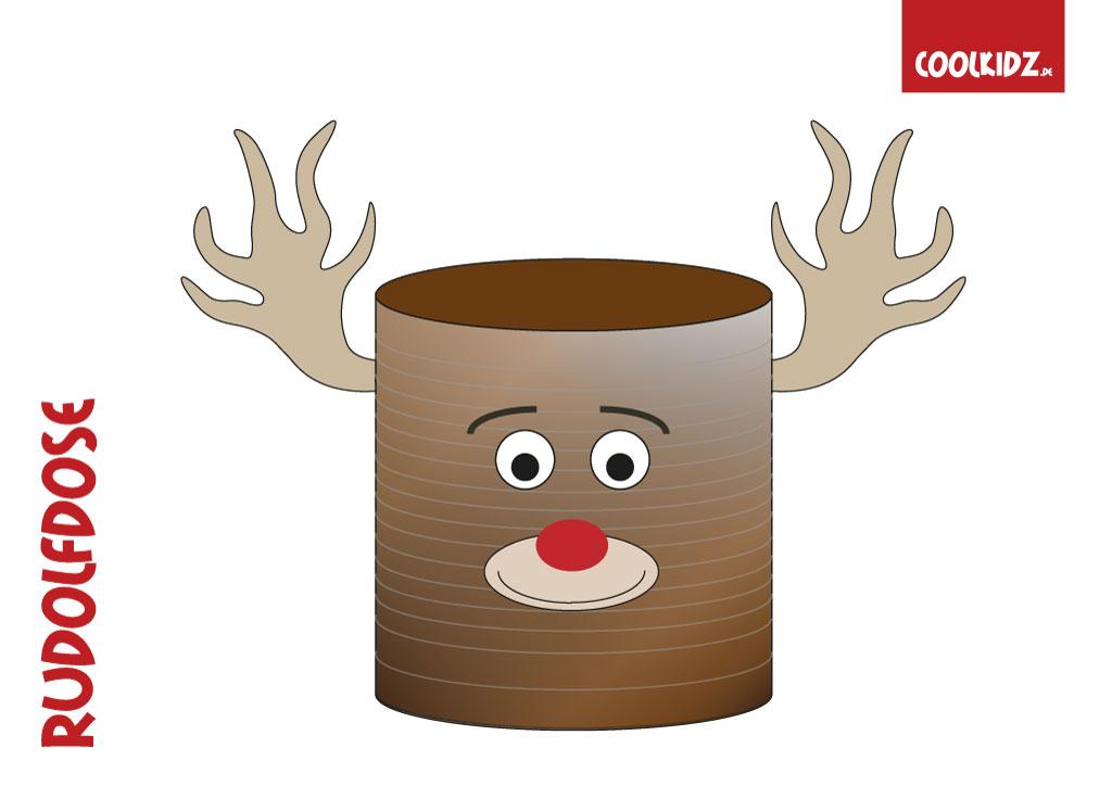 rentier basteln dosenrentier basteln rentier zu weihnachten auf. Black Bedroom Furniture Sets. Home Design Ideas