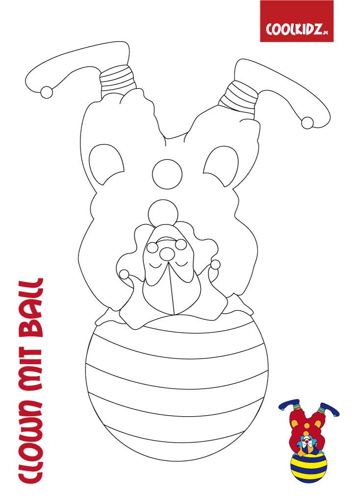 clown malenmalvorlage clownclown ausmalbilder auf