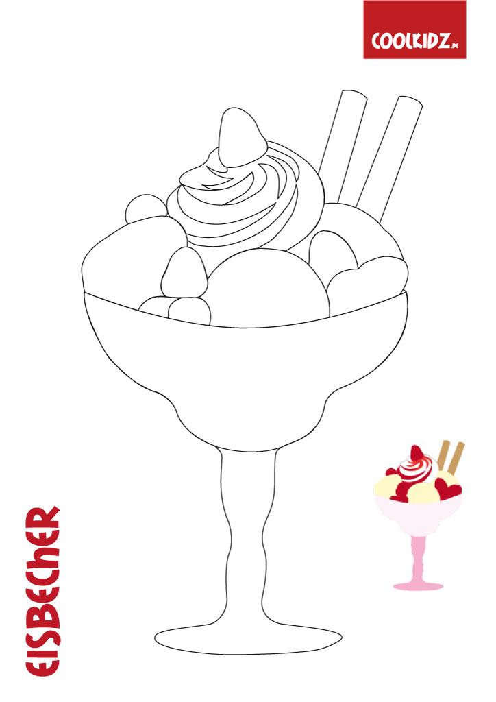 Malvorlage Eismalvorlagen Eismalvorlagen Sommer Auf Coolkidzde